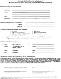 Medical Record Release Form blank medical records release form Ninjaturtletechrepairsco 1