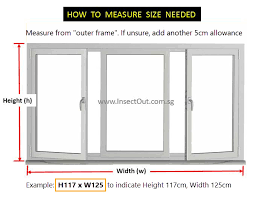 Measurement Window How To Measure For Diy Orders Of Insectout Magnetic Insect
