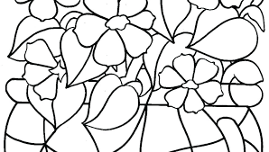 Spring Coloring Sheets For Free Printable Break Pages Flowers ...