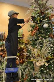 How To Decorate A Designer Christmas Tree Stunning How To StepByStep Designer's Christmas Tree Decorating Worthing