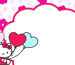 Hello Kitty First Birthday Invitations Hello Kitty Photo Birthday
