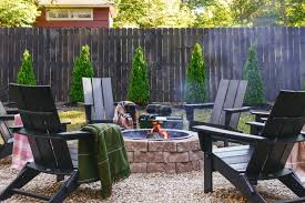 build a backyard fire pit this weekend