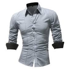 Long Sleeve Designer Shirts Mens Autumn Long Sleeve Turn Down Collar Fashion Designer Shirts