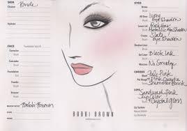 bobbi brown face chart for kate middleton