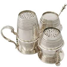 sterling silver cruet set antique victorian for sale at stdibs