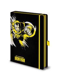 <b>Записная книжка Marvel</b> Comics (Iron Man Mono) Premium A5 ...