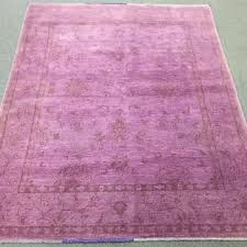 size 6 4x5 ft ziegler overdyed afghan rug hand knotted rug pin
