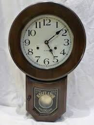 details about 31 day wooden wind up chime pendulum wall clock korea