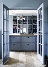 Modern Kitchen Paint Colors Cool Blue Paint for Wood Kitchen