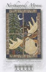 Happy Hollow Designs – Quilting Books Patterns and Notions & Northwoods Moose Window Pane Quilt Adamdwight.com