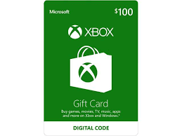 xbox gift card 100 us email delivery