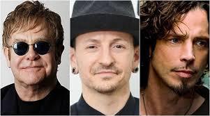 Image result for Sir Elton John saddened by Chester Bennington and Chris Cornell suicides