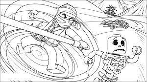 Ninja defeated Skullkin in Ninjago Coloring Pages - Ninjago Coloring Pages  - Coloring Pages For Kids And Adults