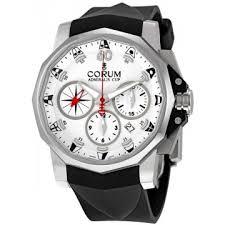 corum admirals cup watches jomashop corum admirals cup white dial chronograph men s watch 75367120f371aa52