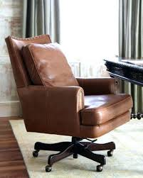 brown leather office chair. Brown Leather Office Chair Desk Cheap Computer .