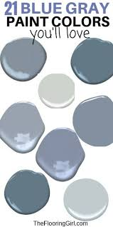 Gray Paint Chart Best Blue Gray Paint Colors 21 Stylish Dusty Blues The