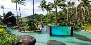 natural looking in ground pools. Laucala Island Resort Pool Fiji Natural Looking In Ground Pools