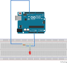 Arduino Led Light Projects Make A Simple Led Circuit Arduino Project Hub