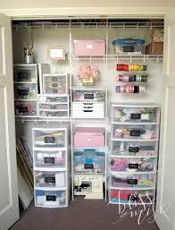 craft closet storage