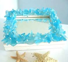 sea glass mirror mirrors easy projects see more at a beautiful home depot