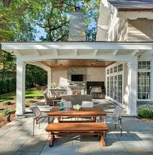 Sunroom With Fireplace Designs Attached Covered Patio Designs Enclosing Attached Porch Deck