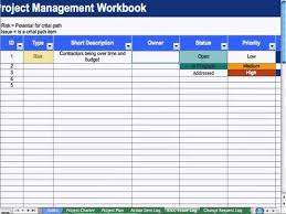 5 Risk Issue Log Project Management