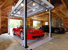 garage inside with car. Car Garage Inside With