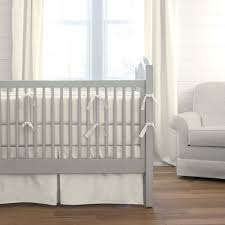 solid ivory crib bedding