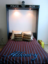 Electric Murphy Bed Rest Up In A Doctor Who Tardis Bed For Sleepy Time Lords Cnet