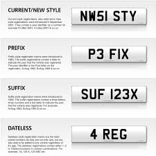 Letters By Number 18 Of The Best Personalised Number Plate Ideas Ever