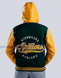 high school varsity letterman jacket hoo leather