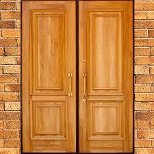 2 Double doors: