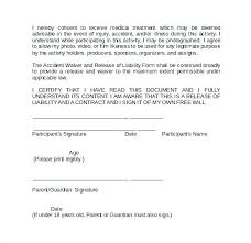 Liability Waiver Template Fascinating Release Of Liability Waiver Template Photo Form Free 48 Forms To