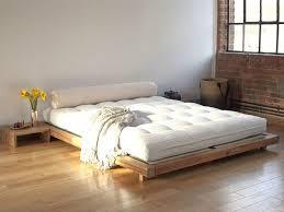 Low Platform Bed Frames Low Bed Frames Queen Beautiful Wood Queen ...