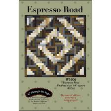 Espresso Road Flannel Quilt Pattern All Through the Night Bonnie ... & Espresso Road Flannel Quilt Pattern All Through the Night Bonnie Sullivan Adamdwight.com