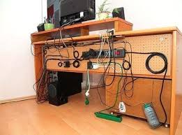 home office cable management.  Office Desk With Cable Management Home Office  Intended Home Office Cable Management Brighterbeginningsinfo