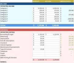 Sample Accounting Excel Spreadsheet Sample Yearly Budget Expense Report Management Archives My Excel