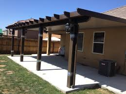 image of do it yourself aluminum patio covers