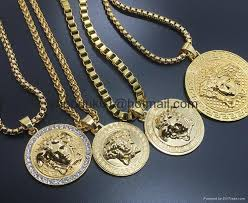 gold medallion necklace mens wallpaper gallerychitrak org