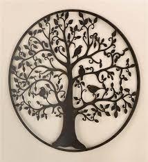 inspiring design metal wall art birds designing home bird tree in main image for black flying indoor