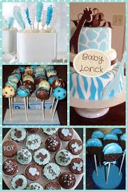 Baby Shower Food Ideas Desserts Pinterest Cake Table Display