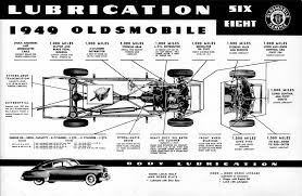 1949 oldsmobile shop manual 6 and 8 oldsmobile 1949 shop manual 6 and 8 1949 oldsmobile lubrication chart