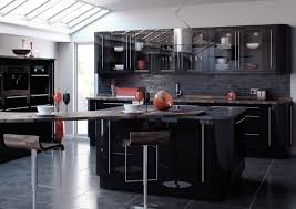Black High Gloss Kitchen Doors High Gloss Kitchen Designs Quality Designs For All Budgets