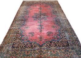 9 10x16 10 antique kerman rug