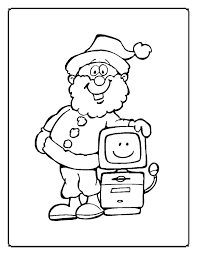 Coloring Page Computer Parts Computer Coloring Pages Printable