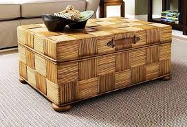 image of trunk chest coffee table
