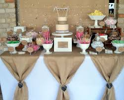 Burlap Party Decorations Ideas 87