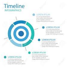 Timeline Target Icon Color Timeline Layout Business Timeline