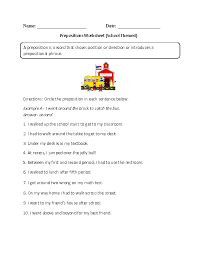 Free Printable Grammar Worksheets for Middle School Students ...