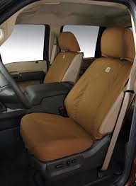 seat covers by covercraft rear super cab 60 40 without armrest carhartt brown